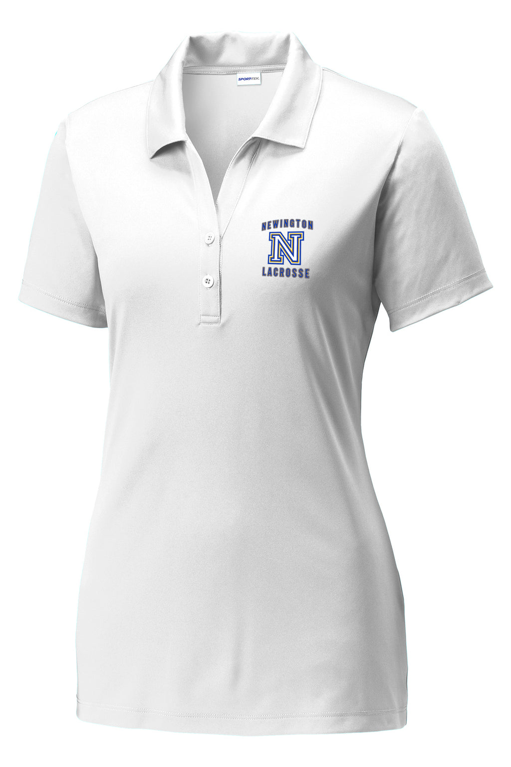 Newington Lacrosse Women's White Polo