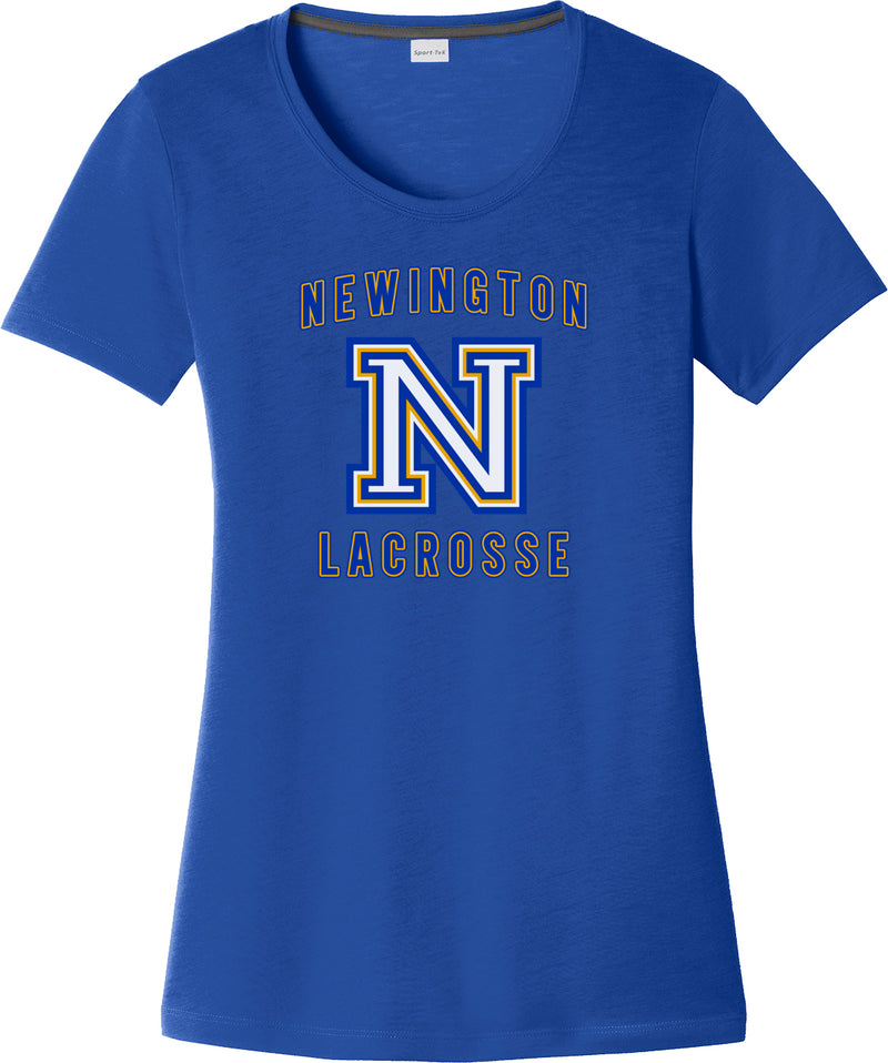 Newington Lacrosse Women's Royal CottonTouch Performance T-Shirt