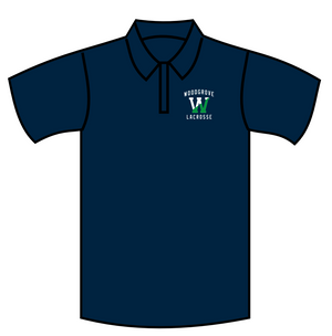Woodgrove Lacrosse Navy Polo