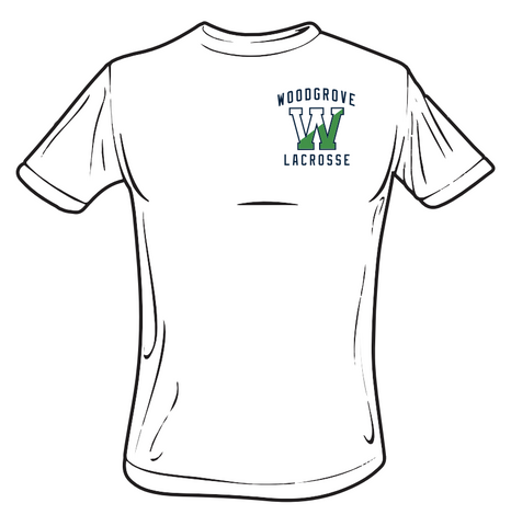 Woodgrove Lacrosse White T-Shirt