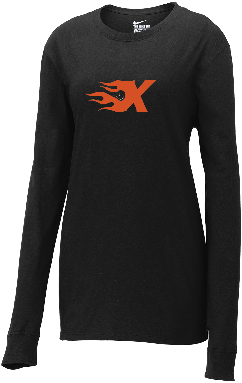 Xtreme Lacrosse Nike Ladies Black Long Sleeve Tee