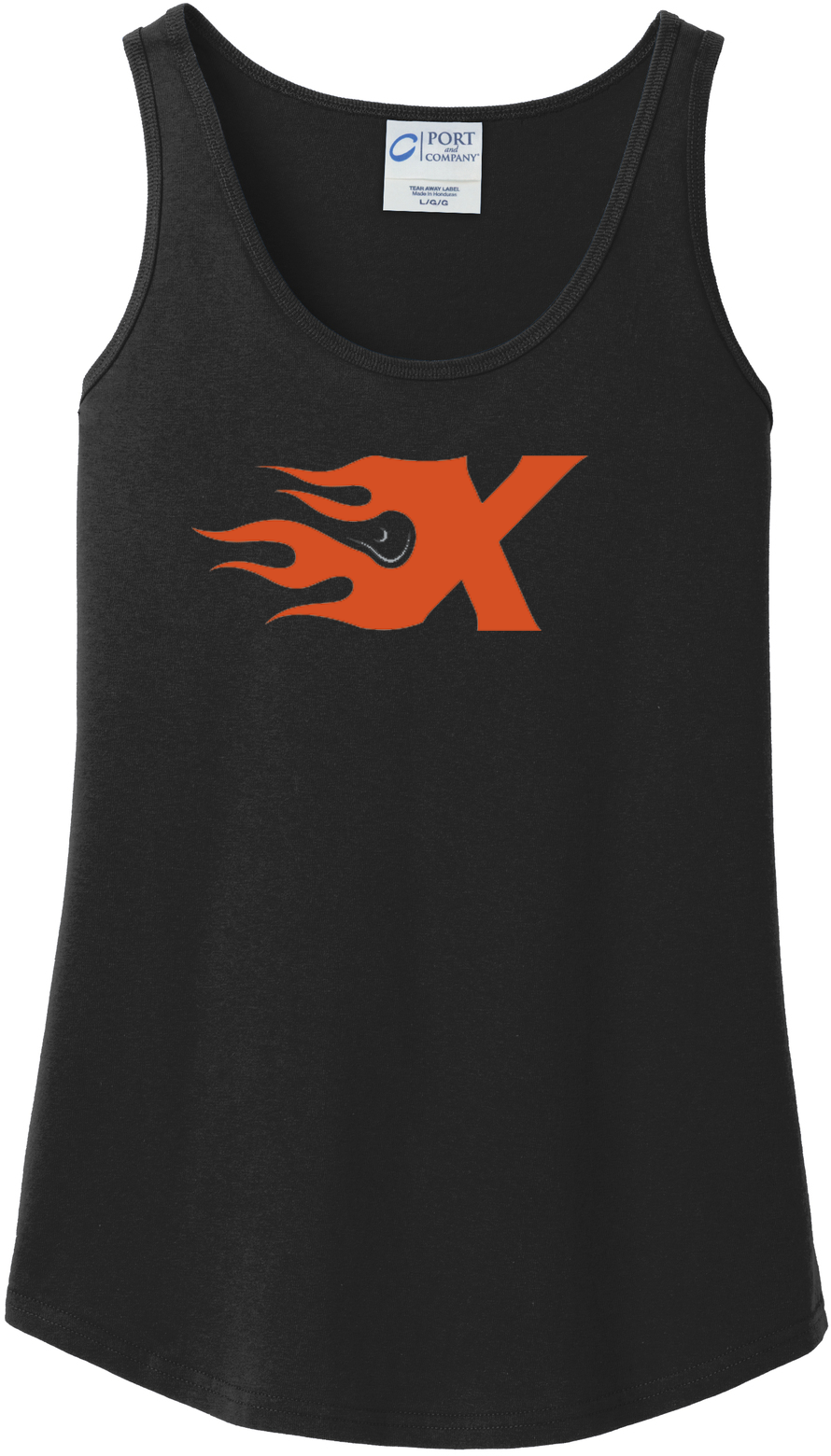 Xtreme Lacrosse Women's Black Tank Top