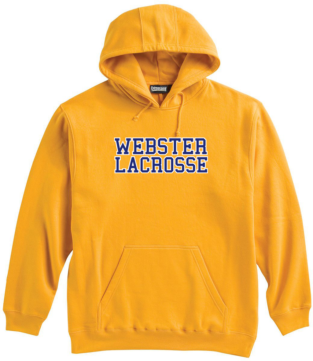 Webster Lacrosse Yellow Sweatshirt