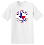 Bay Area Lacrosse White T-Shirt