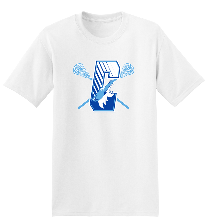 Coyotes Lacrosse White T-Shirt
