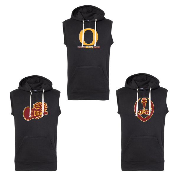 Oxford Golden Bears Sleeveless Hoodie
