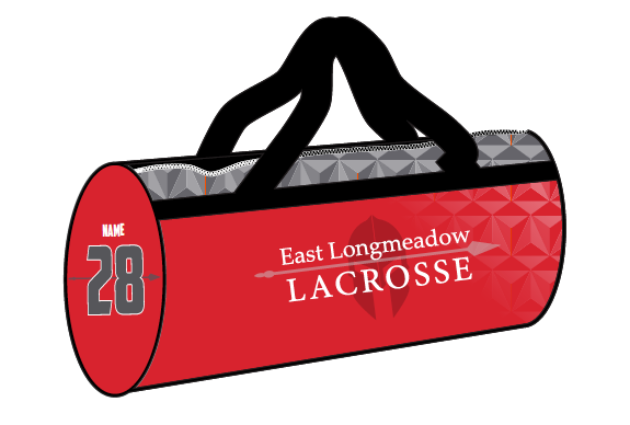 East Longmeadow Lacrosse Team Equipment Bag