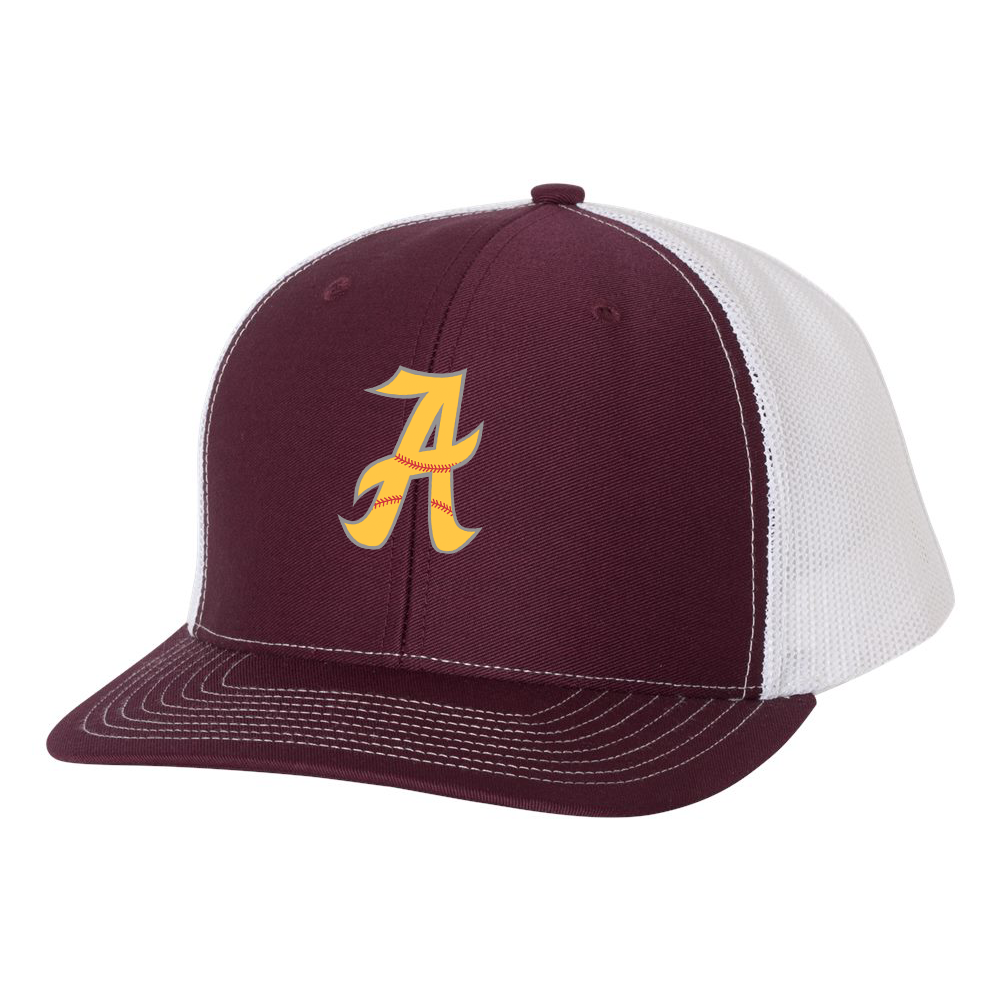 Amherst  Softball Richardson Snapback Trucker Cap
