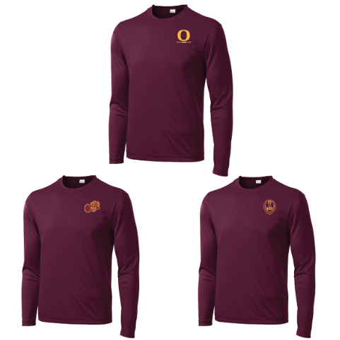 Oxford Golden Bears Long Sleeve Performance Shirt