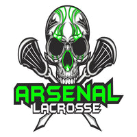 Arsenal Lacrosse Car Decal
