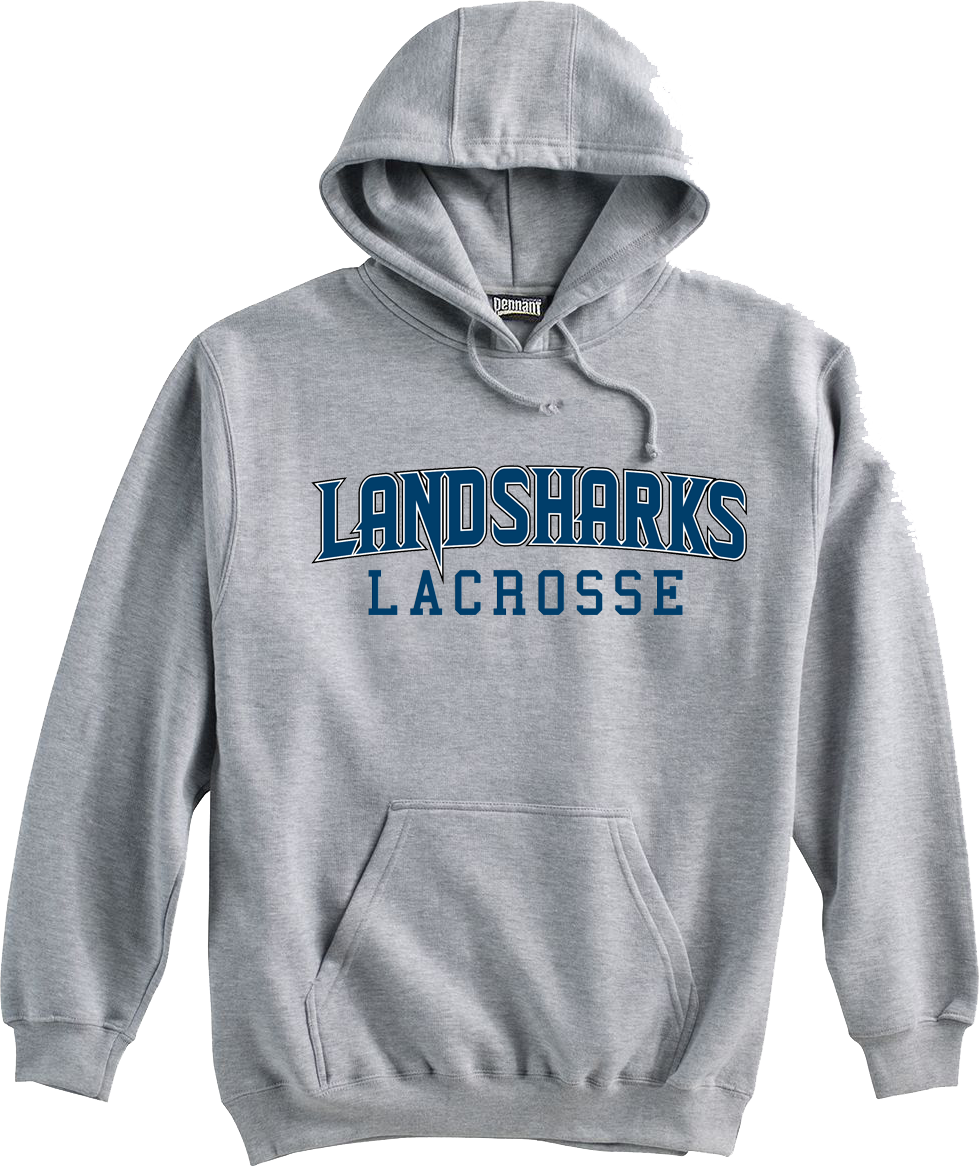 Bay Area Landsharks Grey Sweatshirt Text Logo