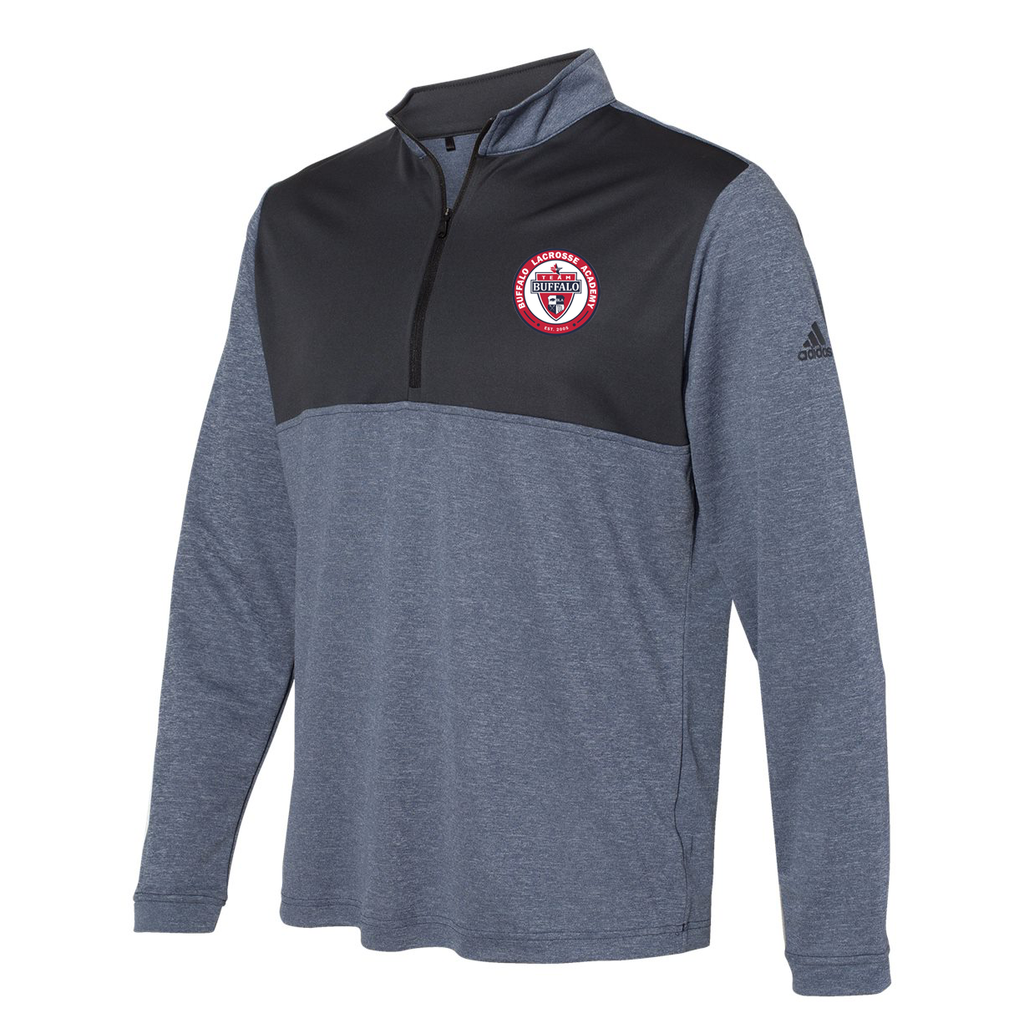Team Buffalo Adidas Lightweight Quarterzip Pullover