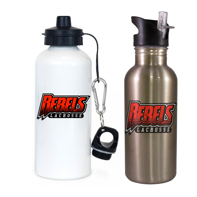 Rebels Lacrosse Team Water Bottle