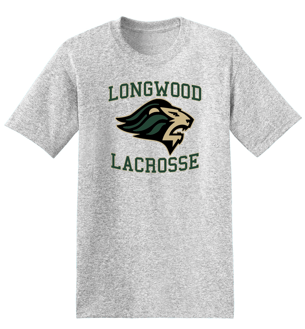 Longwood Lacrosse Grey T-Shirt