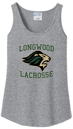 Longwood Lacrosse Women's Grey Tank Top