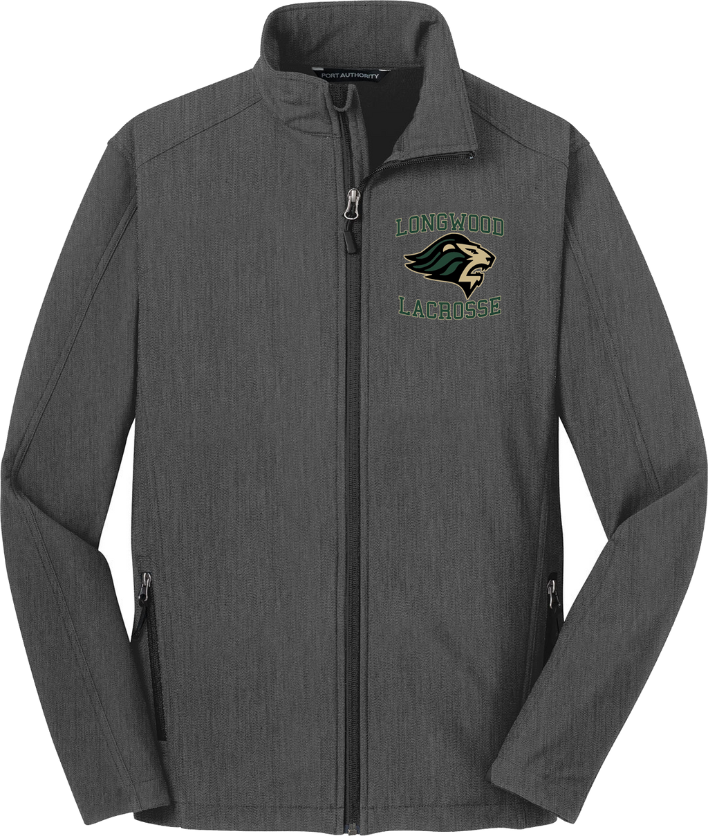 Longwood Lacrosse Charcoal Soft Shell Jacket