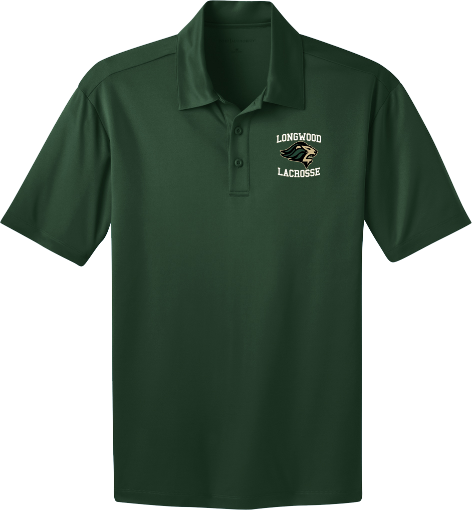 Longwood Lacrosse Green Polo