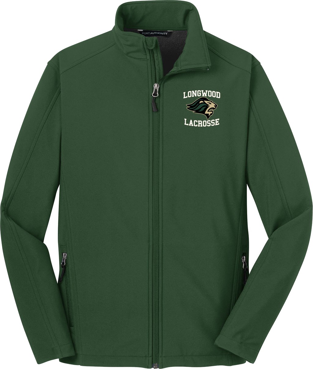 Longwood Lacrosse Green Soft Shell Jacket