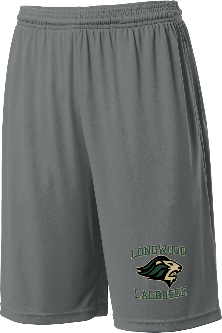 Longwood Lacrosse Grey Shorts