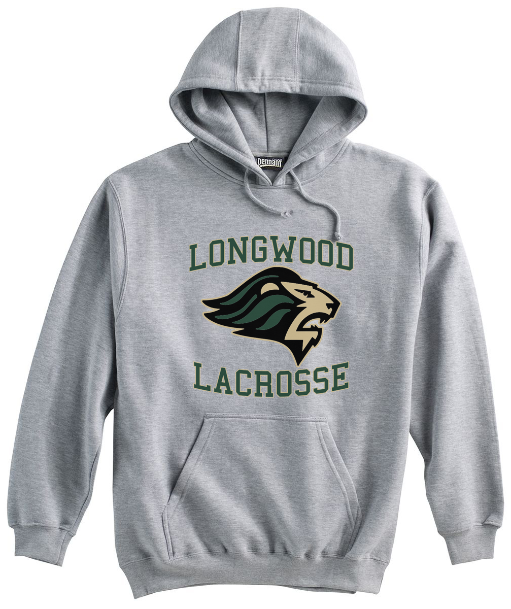Longwood Lacrosse Grey Sweatshirt