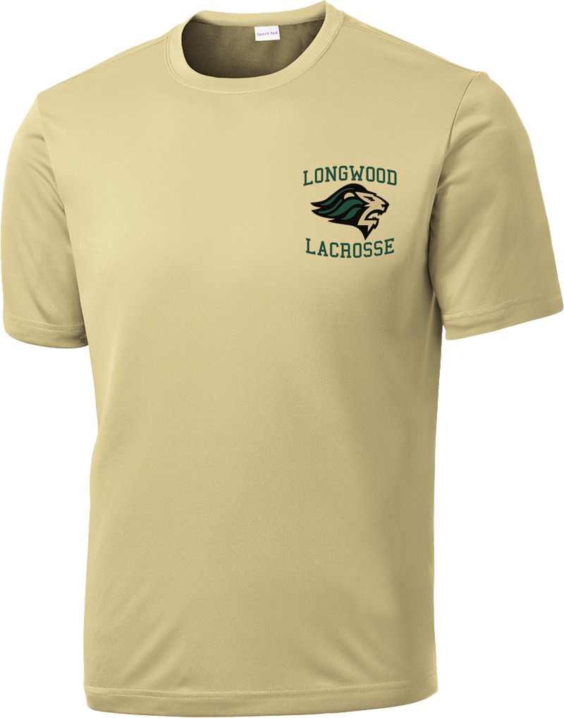 Longwood Lacrosse Vegas Gold Performance T-Shirt