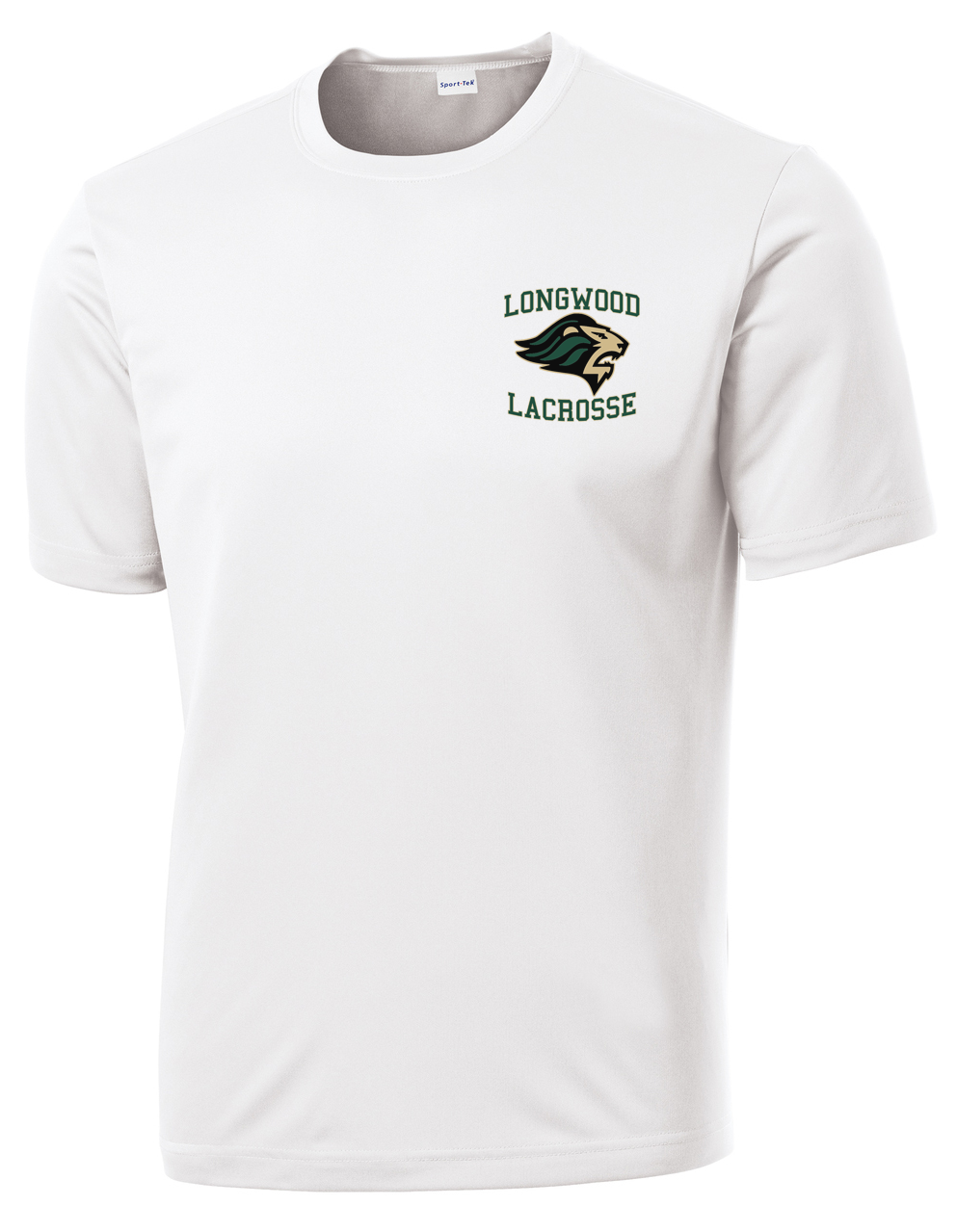 Longwood Lacrosse White Performance T-Shirt