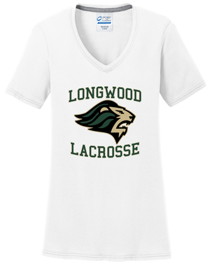 Longwood Lacrosse Women's White T-Shirt