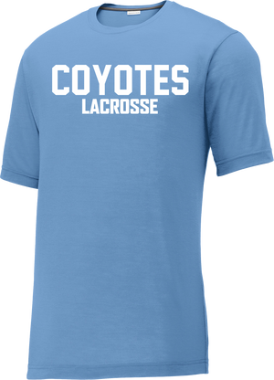 Coyotes Lacrosse Carolina Blue CottonTouch Performance T-Shirt