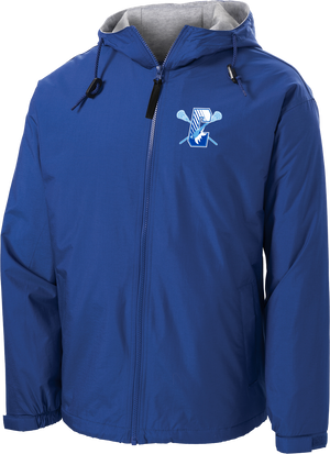 Coyotes Lacrosse Hooded Jacket