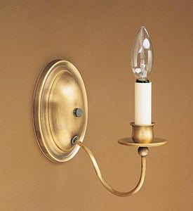 Wall Sconce 1 J-Arm 119 - FLC Select