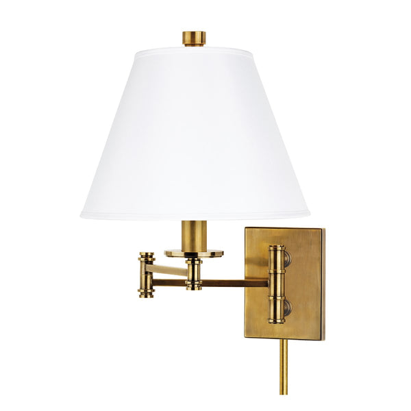 Claremont Plug In Swing Arm Wall Sconce 7721