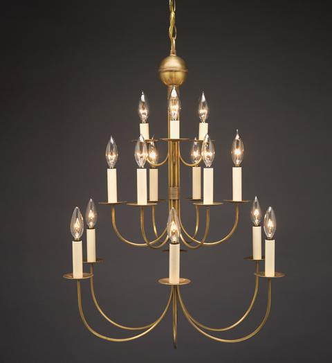 Chandelier Hanging Three Tier J Arms 985 - FLC Select