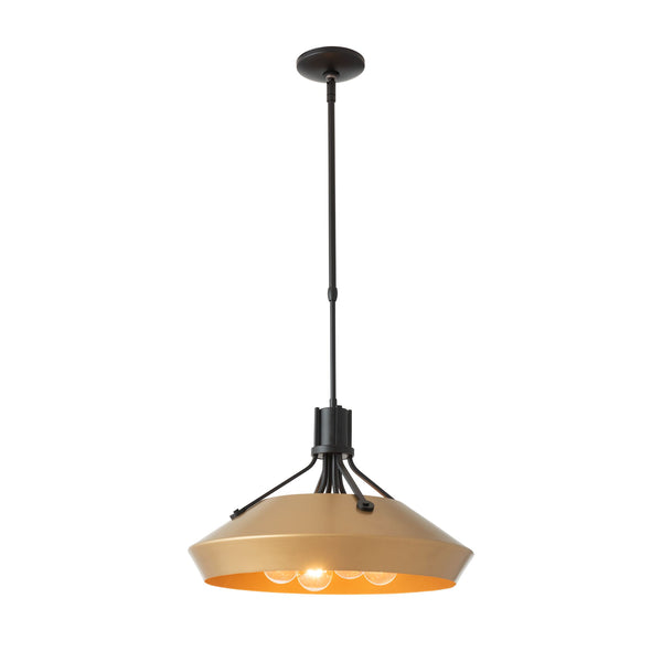 "Henry with Chamfer Shade Adjustable Long Length (46.2""-58.9"") Pendant 136341"