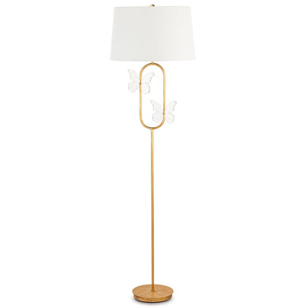 Monarch Oval Floor Lamp 14-1053