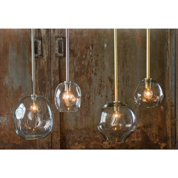 Molten Pendant Large With Clear Glass 16-1088 - FLC Select