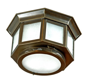 "1624 Small 11""W Outdoor Ceiling Flush Mount"