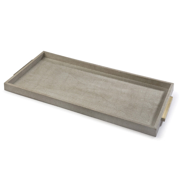 Rectangle Shagreen Boutique Tray 20-1103 - FLC Select
