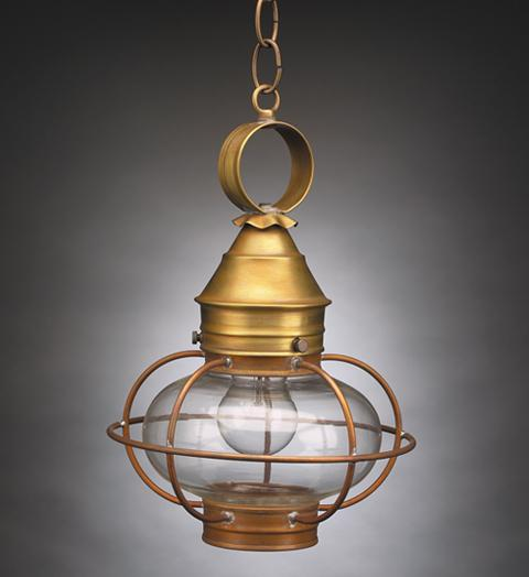 Caged Onion Outdoor Hanging Lantern 2522