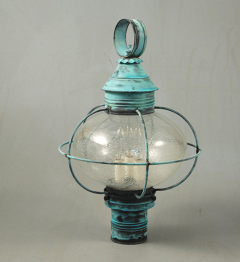 Caged Onion Outdoor Post Lantern 2543 - FLC Select
