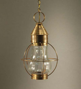 Bosc Caged Pear Outdoor Hanging Lantern 2732