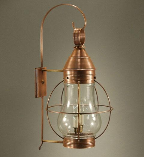 Bosc Caged Pear Outdoor Wall Lantern 2741 - FLC Select