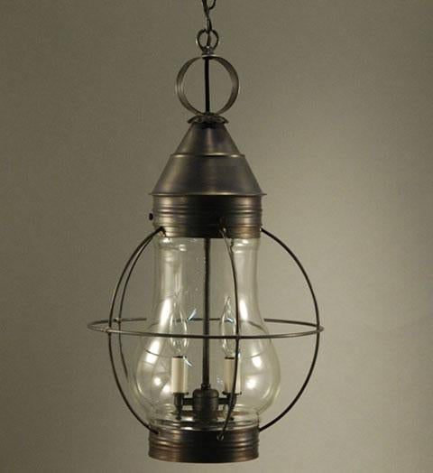 Bosc Caged Pear Outdoor Hanging Lantern 2742 - FLC Select
