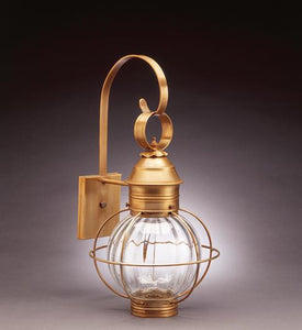 Caged Round Onion Outdoor Wall Lantern 2831 - FLC Select