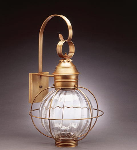 Caged Round Onion Outdoor Wall Lantern 2841 - FLC Select