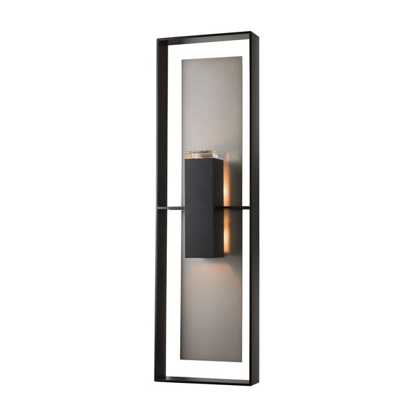 Shadow Box Tall Outdoor Wall Sconce 302607