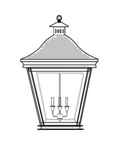 Quinly Outdoor Hanging Lantern 35313 - FLC Select
