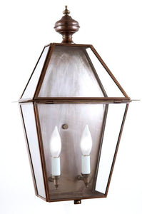 "4021-H Essex Large 11.75""W Outdoor Pocket Wall Lantern with Glass Top"