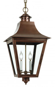 "4182 Grand Central Large 14""W  Hanging Outdoor Lantern"