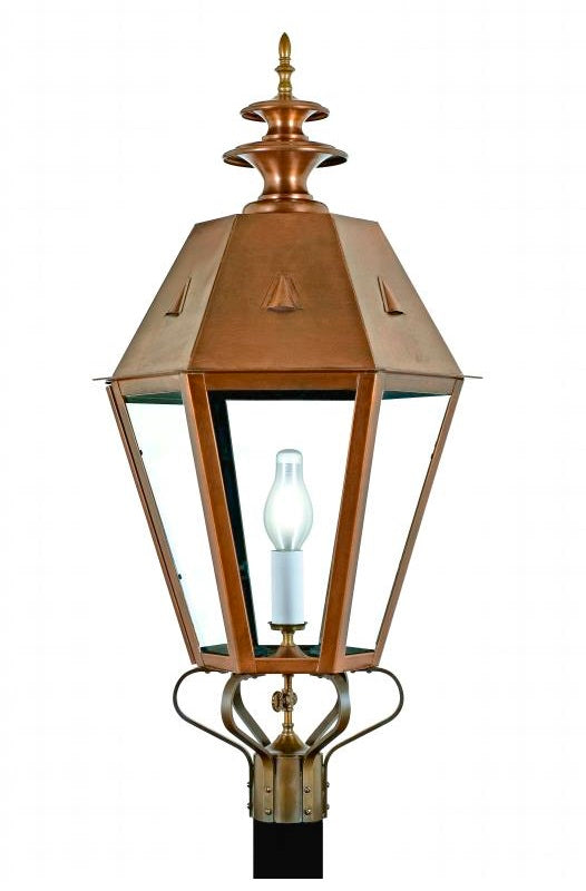 "4270 Country Manor Large 23.5""W Outdoor Post/Pier Lantern"