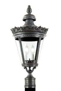 "4930 Crown Copenhagen Large 18""W Outdoor Post/Pier Lantern"